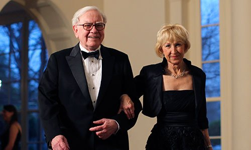 Warren Buffett Astrid Menks Evliliği - warren buffett eşi